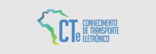 CTe conhecimento de transporte eletrônico.