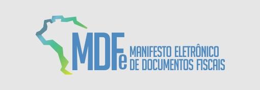 MDFe manifesto eletrônico de documentos fiscais.