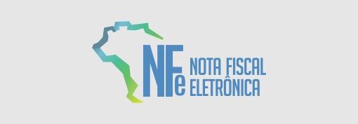 NFe nota fiscal eletrônica.